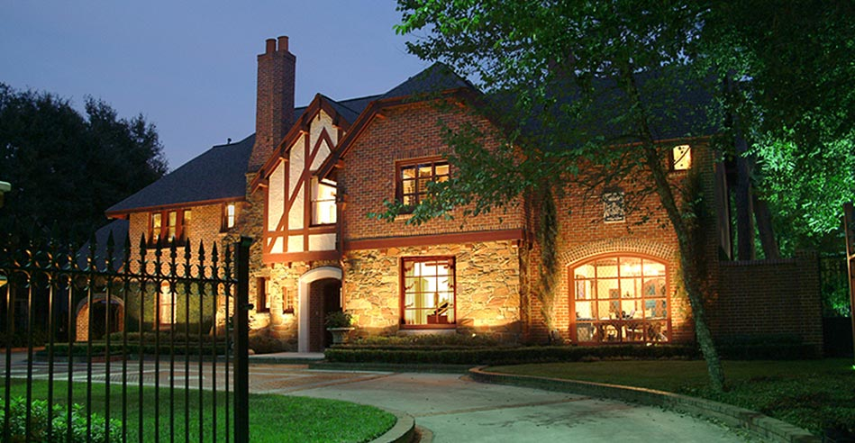 Houston Lighting Design | Outdoor Landscape Lighting | Fine Art ...