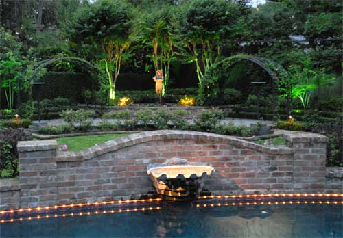 Outdoor landscape lighting houston lighting installers lummis pool tivoli investing in a professionally planned outdoor lighting aloadofball Images