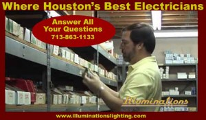 Our Houston electricians have a unique inventory of discontinued and obsolete electrical components that we can install in older homes.