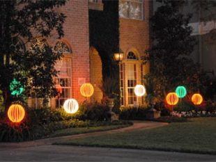 Holiday Lighted Balls