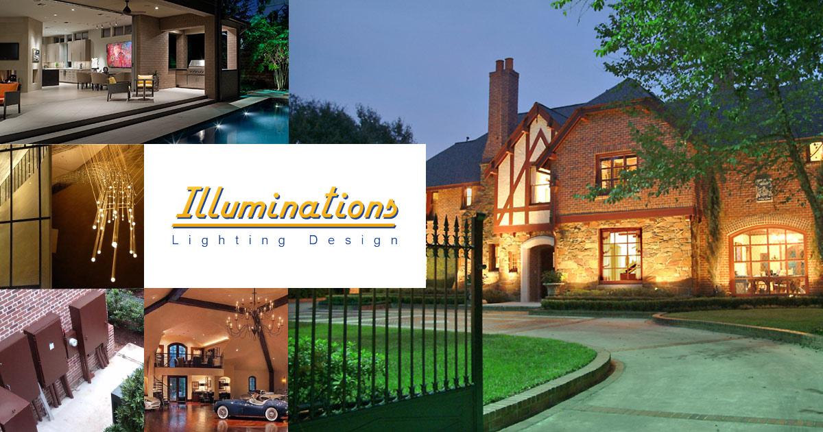 Houston lighting design outdoor landscape lighting fine art lighting company